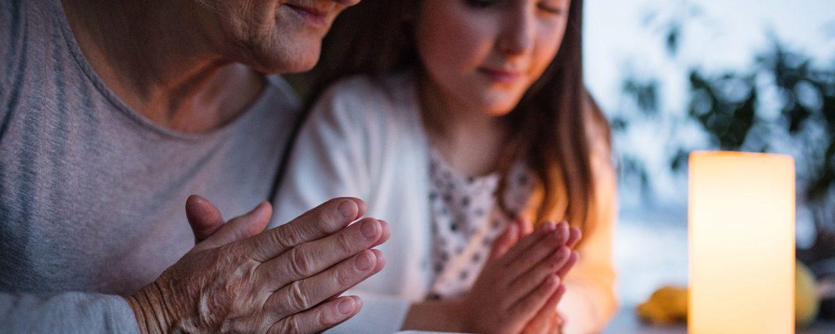Encomendarse a Dios por la manana Chana y Cucho